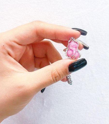 Nhẫn tỳ hưu đá Ruby
