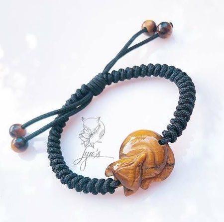 Tết dây Hồ ly đá Mắt Hổ